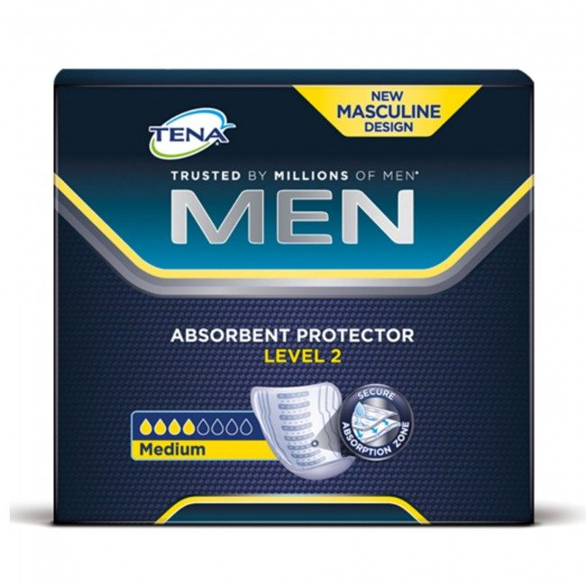 tena men range incontinence pads fir