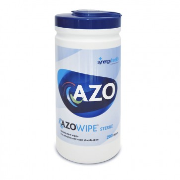 azowipe™ hard surface disinfectant wipes 200 wipes