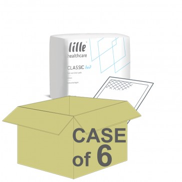 CASE SAVER Lille Classic Super Bed Pads 60x60cm (6 Packs of 30)