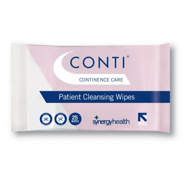 Conti 174 Continence Care Wipes 33x22cm Rsc555 Pack Of