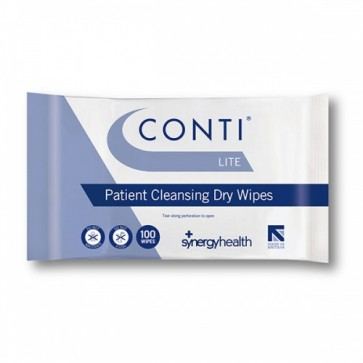 Conti Lite Skin Cleansing Dry Wipes
