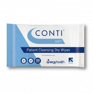 Conti® Soft Skin Cleansing Dry Wipes - CSW110