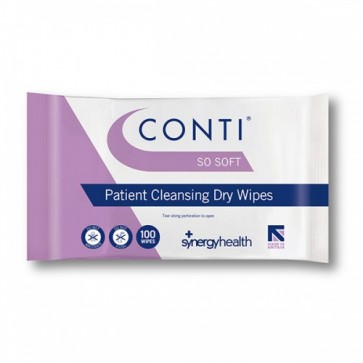 Conti SoSoft Skin Cleansing Dry Wipes