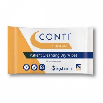 Conti® Standard Skin Cleansing Dry Wipes (Large) - CBW110