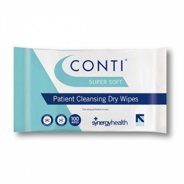 Conti SuperSoft Skin Cleansing Dry Wipes