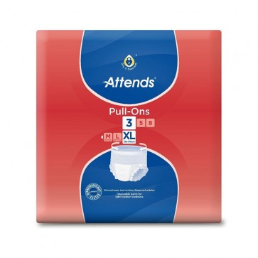 Attends Pull Ons 3 Extra Large | Pack of 18