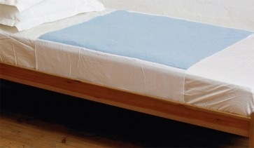 Kylie Washable Double Bed Pad with Wings   4000mls   139x91cm   Blue