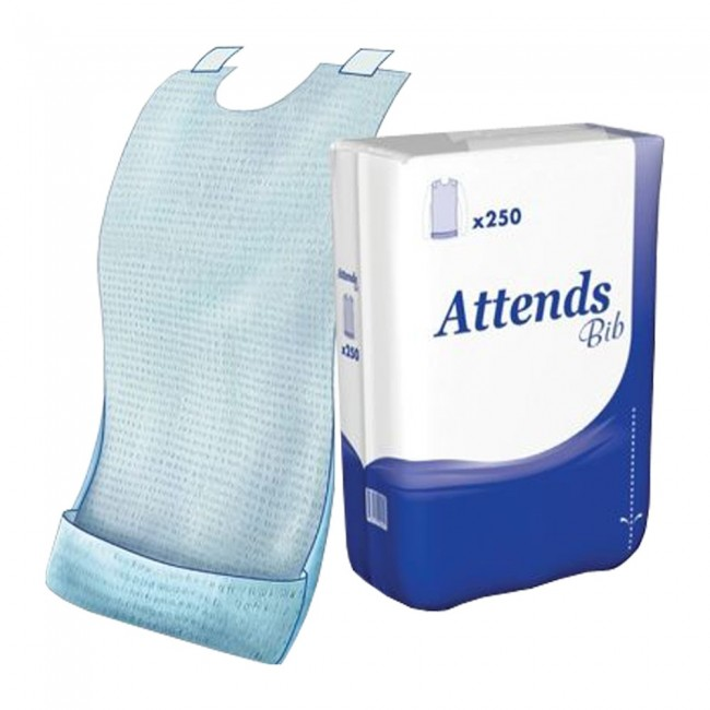 Attends Disposable Bib Pack Of 250 Incontinence