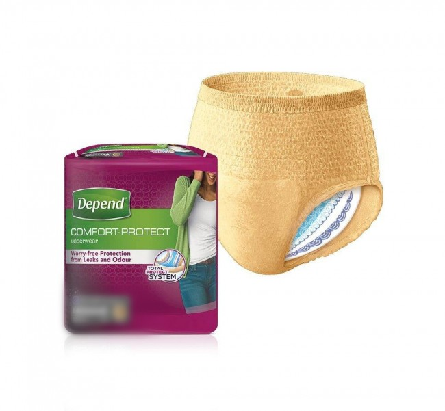 Sample Depend Comfort Protect Women Underwear Large One