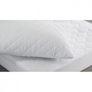 Polycotton Quilted Mattress Protector - King