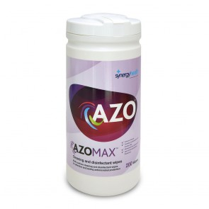 azomax™ cleaning and disinfectant wipes for hard surfaces 200 wipes