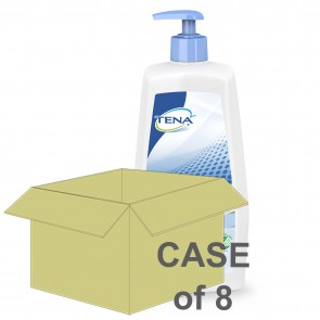 CASE SAVER Tena Wash Cream 1000ml (Case of 8)