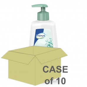 CASE SAVER Tena Shampoo and Shower Gel 500ml (Case of 10)