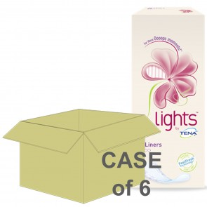 CASE SAVER Tena Lady Light Liners 90ml (6 Packs of 24)