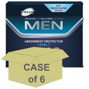 CASE SAVER Tena For Men Level 1 (6 Packs of 24)