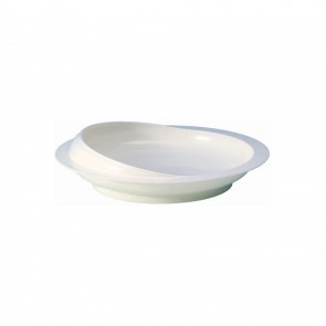 Scoop Plate White
