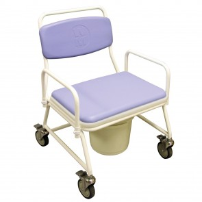 Mobile Bariatric Commode