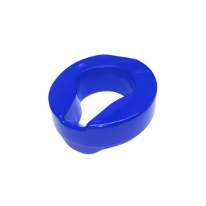 Raised Toilet Seat 10cm/4in Rise Blue