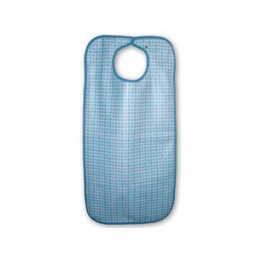 Primacare Re-Usable Bib Gingham 45 x 92cm Large  -  Each