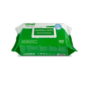 Clinell Universal Wipes | Pack of 200