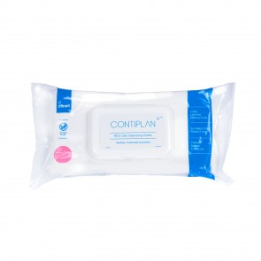 CONTIPLAN+™ All In One Cleansing Cloths | Pack of 25
