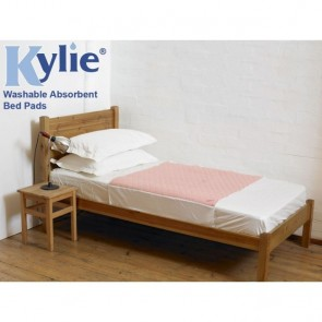 Kylie Absorbant Bed Pad 3 Litres Pink