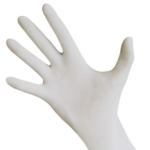 Latex Gloves Lightly Powdered Large