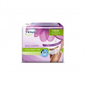 TENA Lady Pants Discreet Medium | 880ml | Pack of 6
