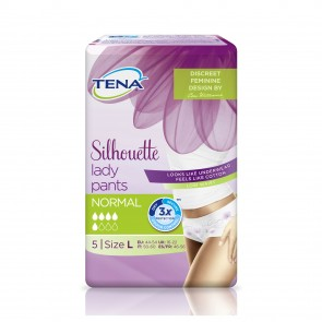 TENA Silhouette Lady Pants | Large | 880ml | Pack of 5