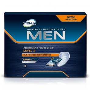 TENA Men Absorbent Protector Level 3 | Pack of 8