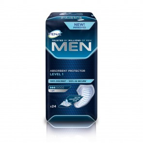 TENA For Men Level 1 | 200-300mls | Pack of 24
