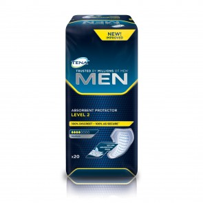 TENA For Men Level 2 | 450-600mls | Pack of 20