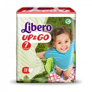 Libero Up & Go 7 | 16-26kg | Pack of 18