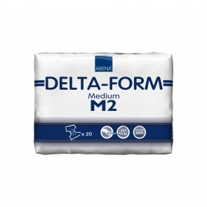 Abena Abri Delta-Form M2 Blue | Medium All In One | Pack of 20