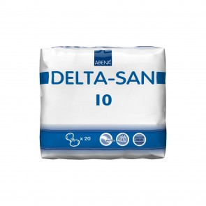 Abena Abri Delta-San 10 | Pack of 20