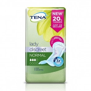 Tena Lady Discreet Normal - Pack Of 12
