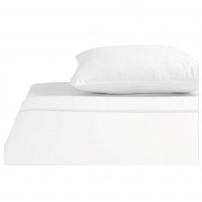 Brolly Sheets Waterproof Top Sheet | Single | Flat Sheet White