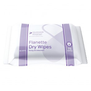 Primacare Flanette Dry Wipes