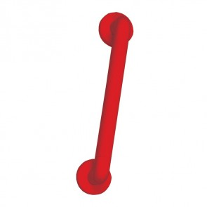 Red Fixed Mobility Handrail 45cm