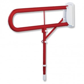 Red Hinged Arm Support Adjustable Height