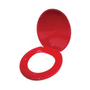 Red Standard Toilet Seat