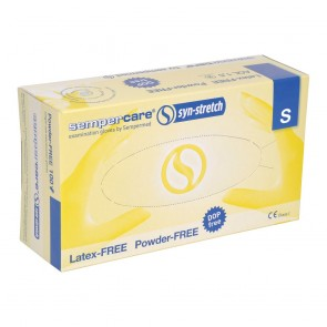 Synthetic Non Sterile Gloves Powder Free Small