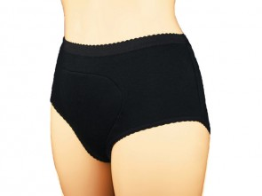 Incontinence Ladies Super Brief | 260mls | Black | Medium
