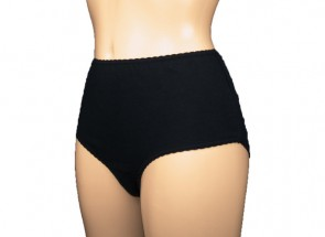 Ladies Cotton Comfy 100mls | Black | Small
