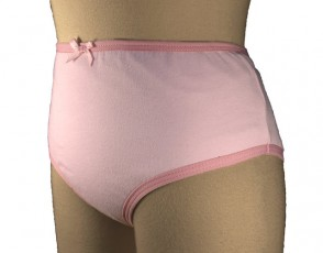 Girls Protective Brief   Pink   Age 2-3