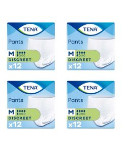 CASE SAVER Tena Pants Discreet Medium (4 Packs of 12)