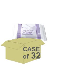 CASE SAVER Primacare Large Dry Wipe 30x32cm (640 Packs of 100)