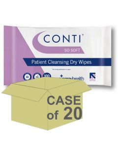 CASE SAVER Conti Sosoft Dry Wipes CPV110 (20 Packs of 100)