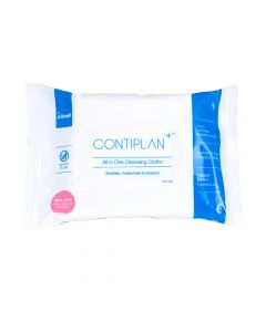 CONTIPLAN+™ All In One Cleansing Cloths | Travel Size Pack of 8