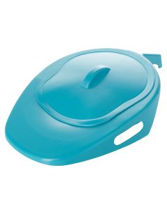 NRS Healthcare Slipper Bed Pan with Lid